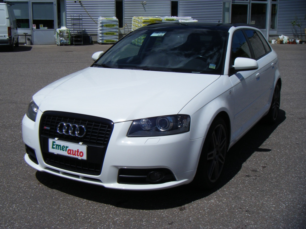 audi a3 sportback 20 tdi s line 2007 usata cles. Black Bedroom Furniture Sets. Home Design Ideas