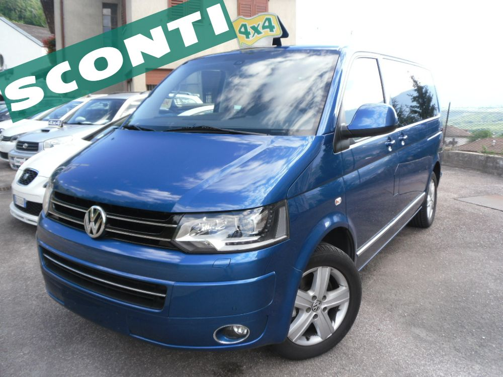 Immagine Volkswagen T5 Multivan 2.0 BiTDI 180CV 4Motion Highline